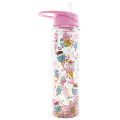 Picture of Ice Cream Treats and Sprinkles Water Bottle