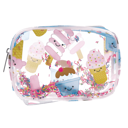 Picture of Ice Cream Treats Clear Cosmetic Bag