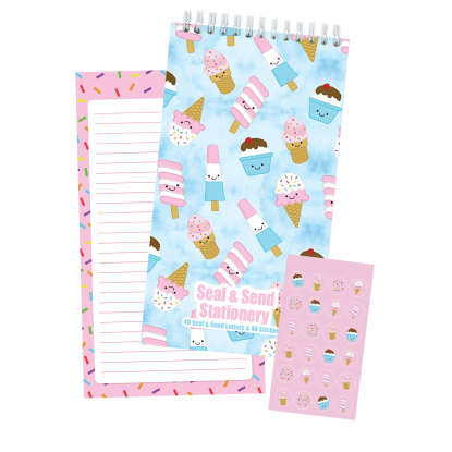 Picture of Ice Cream Treats Seal & Send Stationery