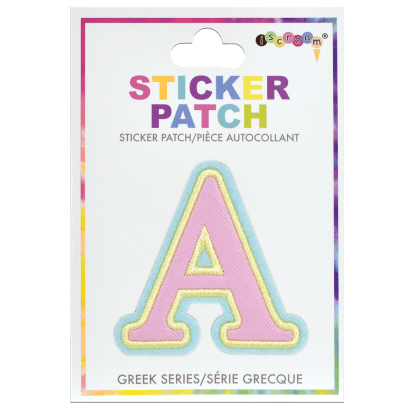 Picture of Alpha Greek Letter Sticker Patch