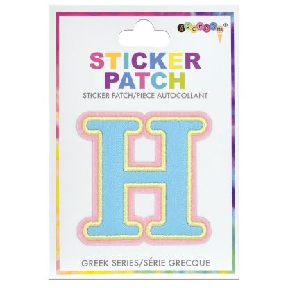 Picture of Eta Greek Letter Sticker Patch