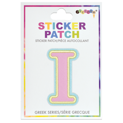 Picture of Iota Greek Letter Sticker Patch
