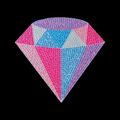 Picture of Diamond Rhinestone Decal Small