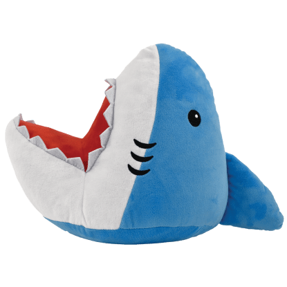 Picture of Shark Bite Furry Pillow