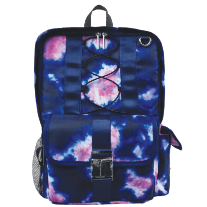 Picture of Indigo and Pink Tie Dye Backpack