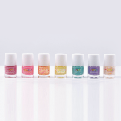 Picture of Days of the Week Confetti Nail Polish