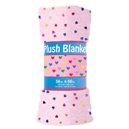 Picture of Colorful Foil Plush Blanket