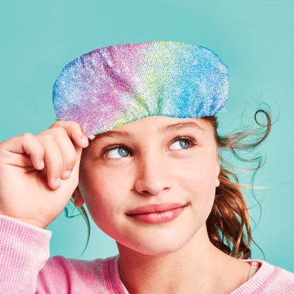 Picture of Shimmering Rainbow Eye Mask