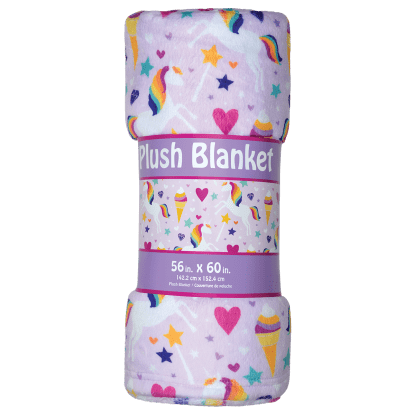 Picture of Magical Unicorn Plush Blanket
