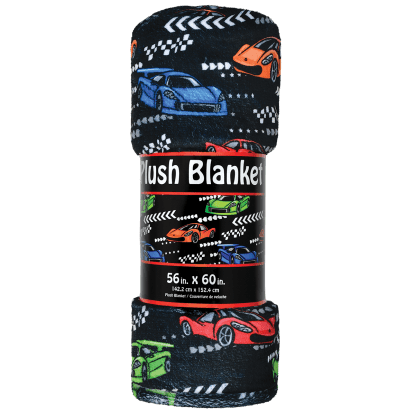 Picture of Race Car Plush Blanket
