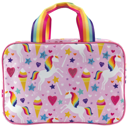 Picture of Magical Unicorn Large Cosmetic Bag