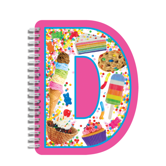 Picture of D Initial Notebook