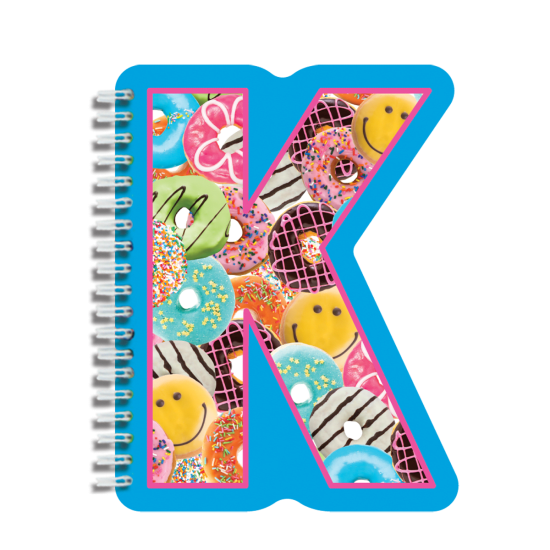 Picture of K Initial Notebook