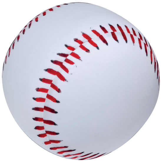 Picture of Baseball 3D Microbead Pillow