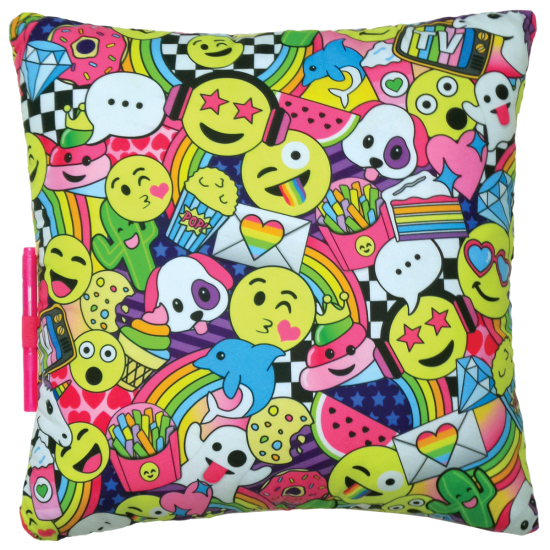 Picture of Emoji Party Autograph Pillow