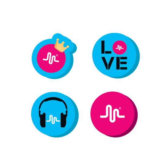 Picture of Musical.ly Mini Eraser Set