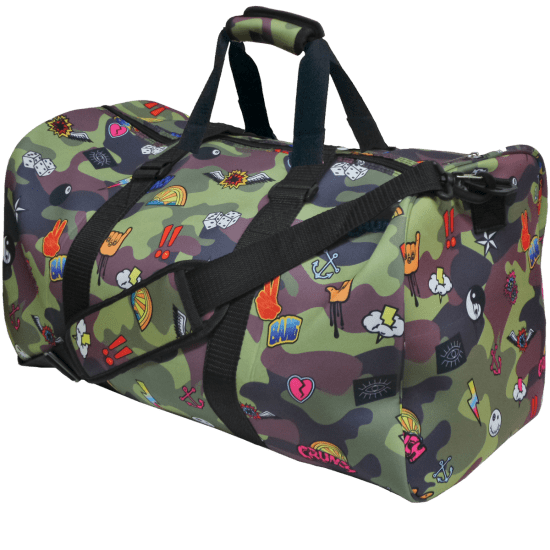 Picture of Camo Duffle Bag