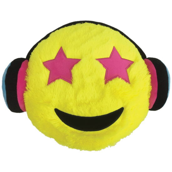 Picture of Headphones Emoji Pillow