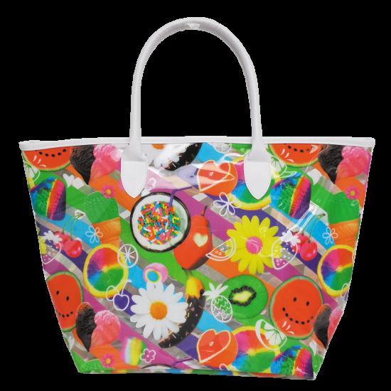 Picture of Tutti Fruiti Clear Tote Bag