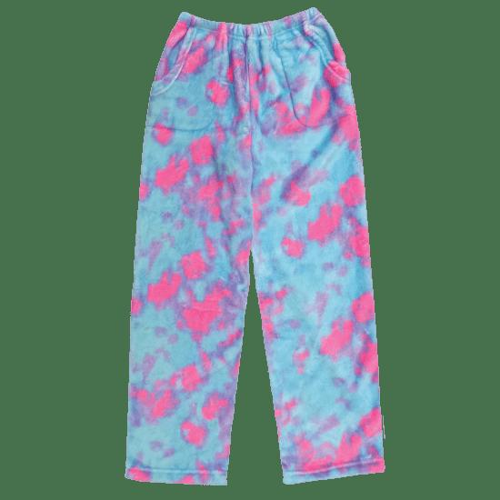 Picture of Sherbet Tie Dye Plush Pants