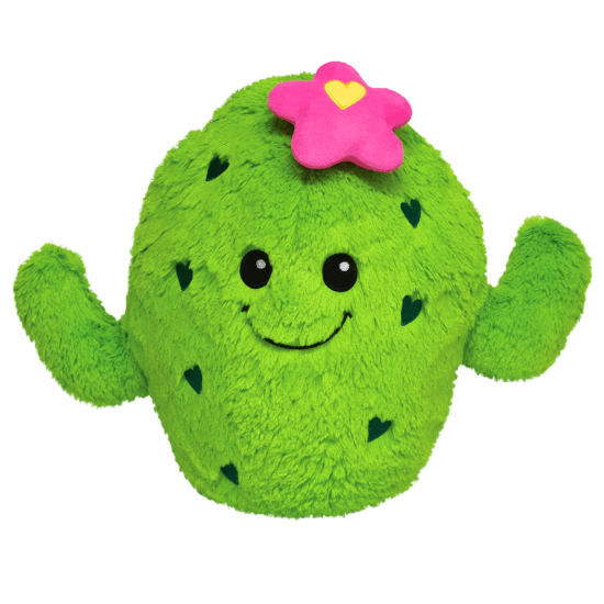 Cactus Cutie Scented Furry Pillow