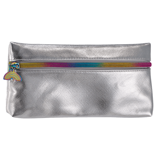 Picture of Silver Metallic Pencil Case