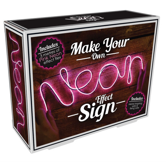 Picture of DIY Neon-Effect Pink Light