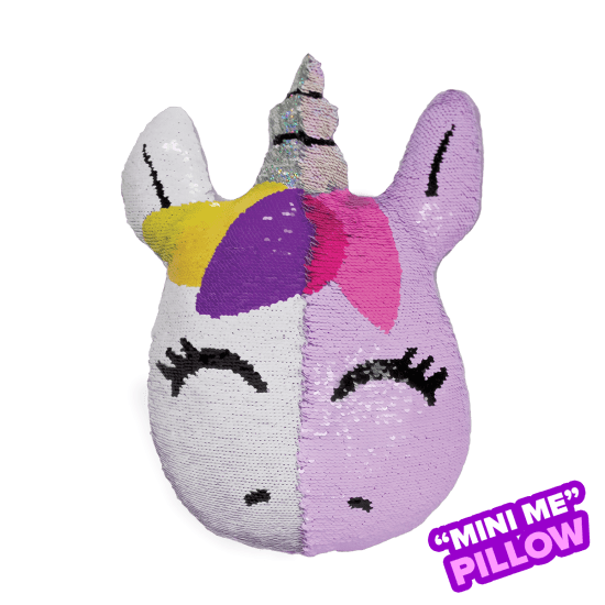 Picture of Mini Unicorn Reversible Sequin Pillow