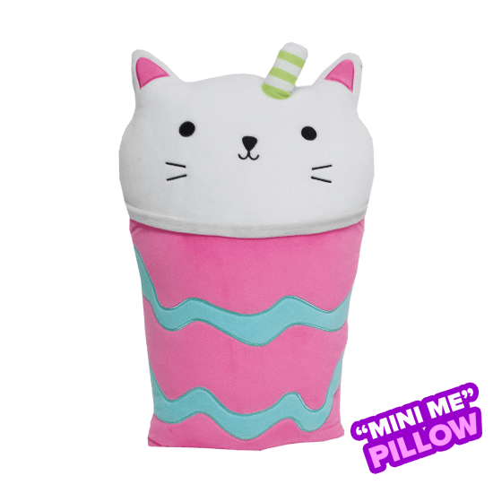 Picture of Mini Purrfect Latte Scented Foodie Pillow