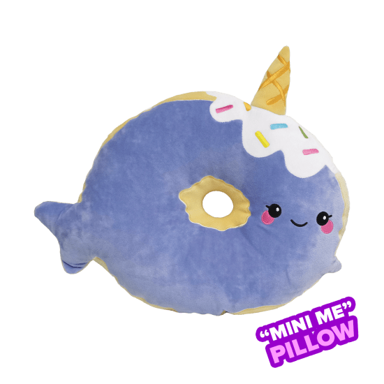 Picture of Mini Narwhal Donut Scented Foodie Pillow