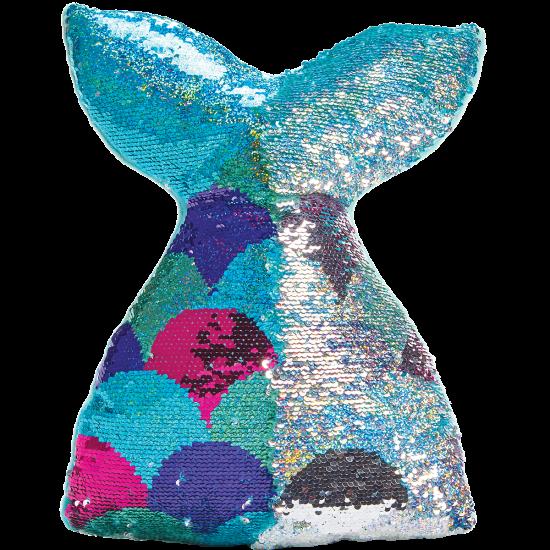 mermaid reversible sequin pillow iscream