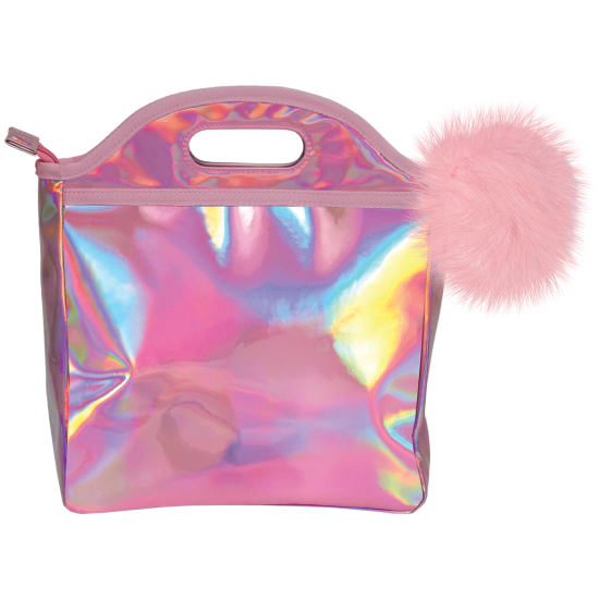 Picture of Pink Holographic Lunch Tote