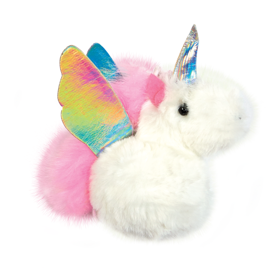 Picture of Unicorn Furry Pom-Pom Clip