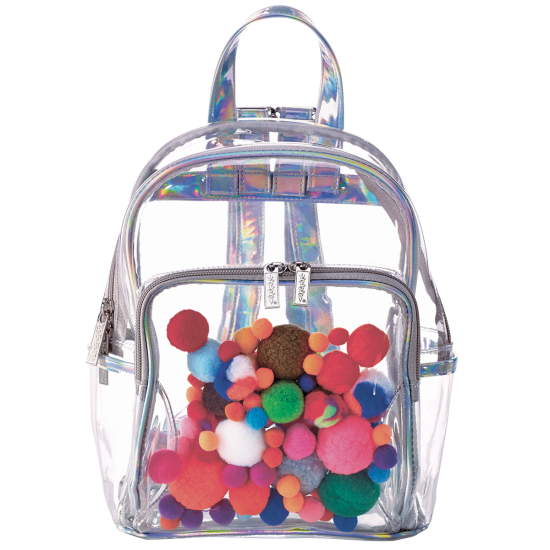 Picture of Pom Pom Clear Backpack