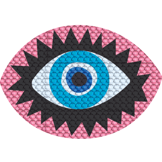 Picture of Eye Rhinestone Decals