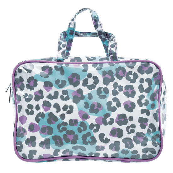 Picture of Snow Leopard Large Cosmetic Bag