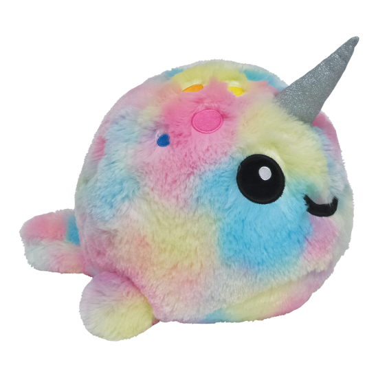 Picture of Tie Dye Narwhal Scented Stuffed Animal