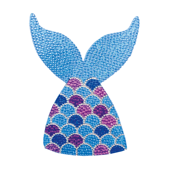 Picture of Mermaid Rhinestone Decal Large
