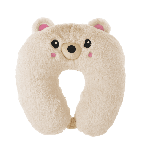 Picture of Bear Furry Neck PIllow