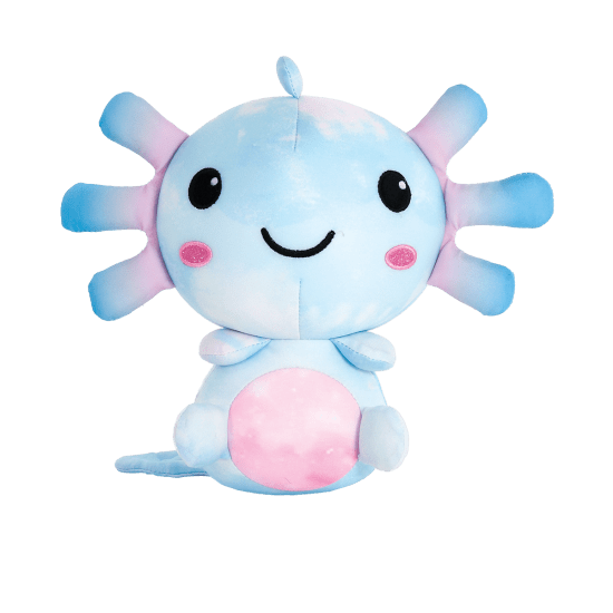 Picture of Aqua Axoloti Scented Microbead Pillow
