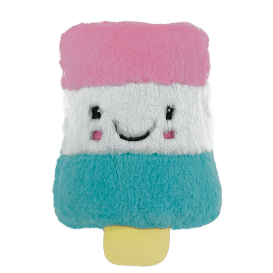 Picture of Pink Rocket Pop Furry Pillow