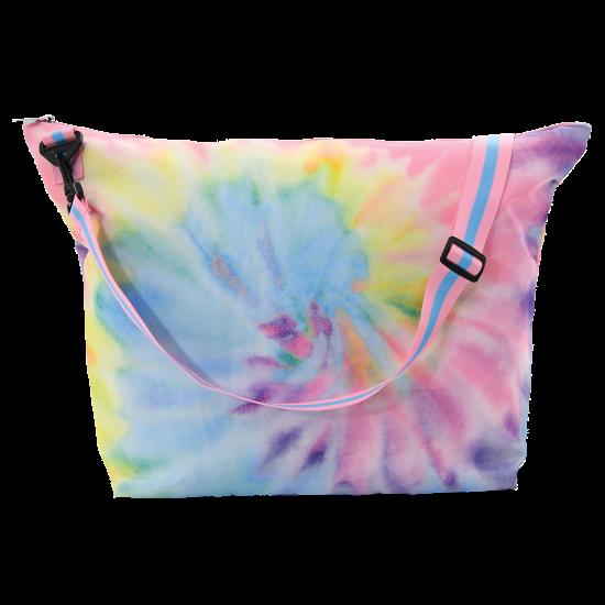 Picture of Pastel Tie Dye Weekender Bag