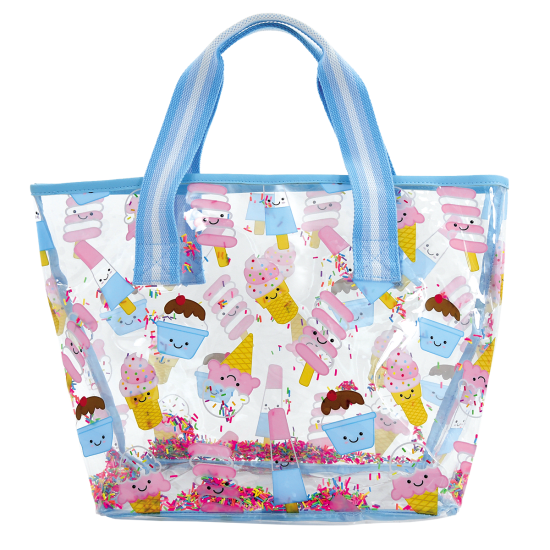 Picture of Ice Cream Treats Clear Tote Bag