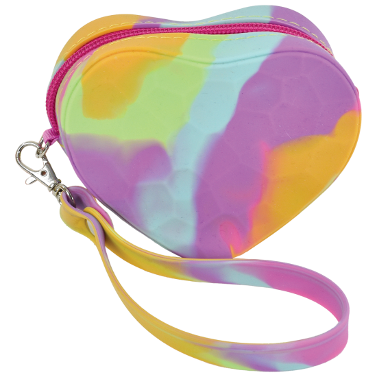 Picture of Heart Silicone Coin Purse