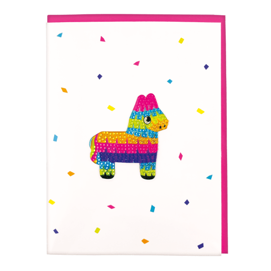 Picture of Pinata Rhinestone Decal Greeting Card