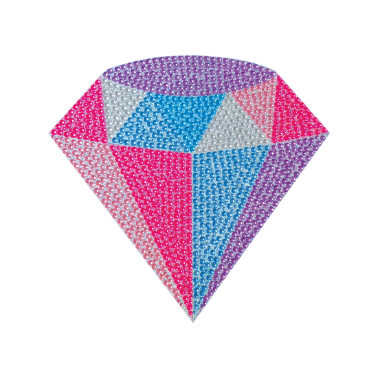 Picture of Diamond Rhinestone Decal Small