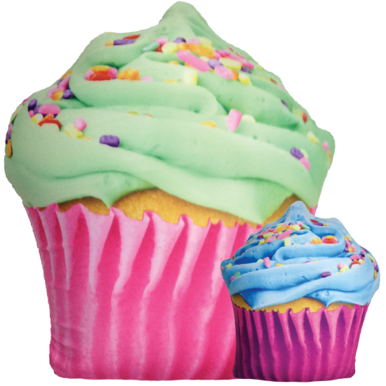 Picture of Celebration Cupcake Scented Microbead Pillow