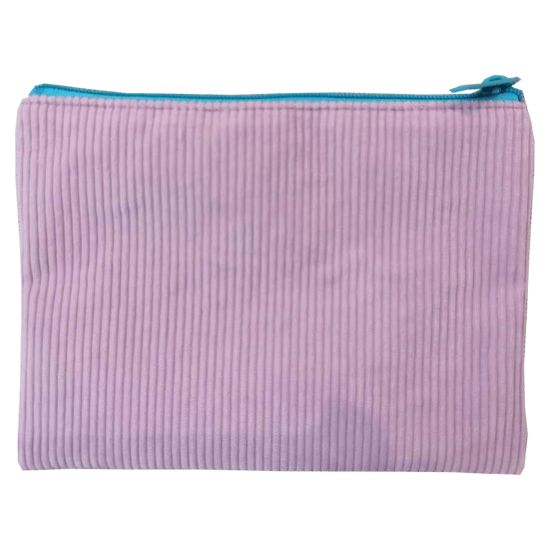 Picture of Lavender Corduroy Pencil Case