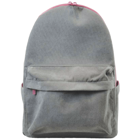 Picture of Grey Corduroy Backpack