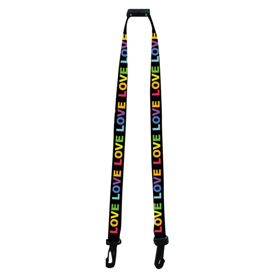 Picture of Love Face Mask Lanyard